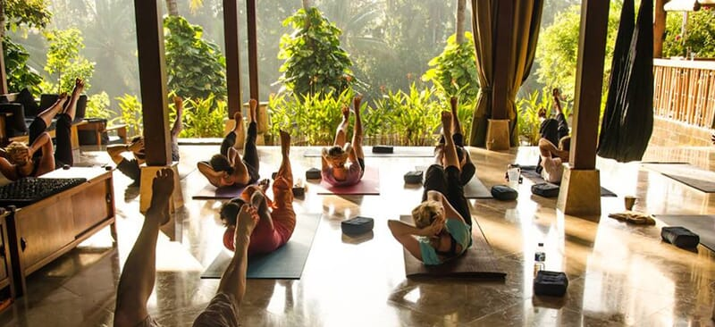 Pilates and Yoga group retreat