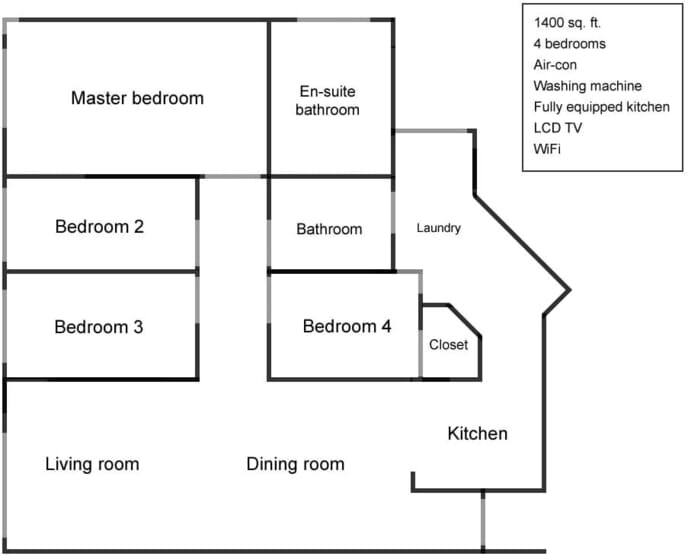 Apartment floor-plan