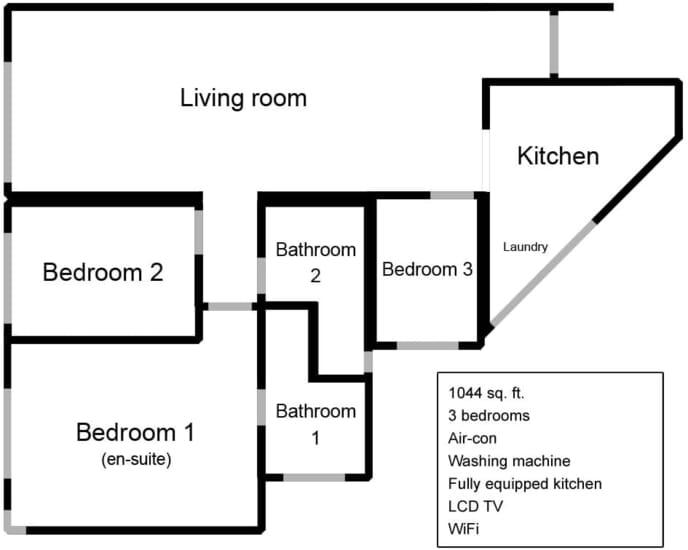 Apartment floor-plan